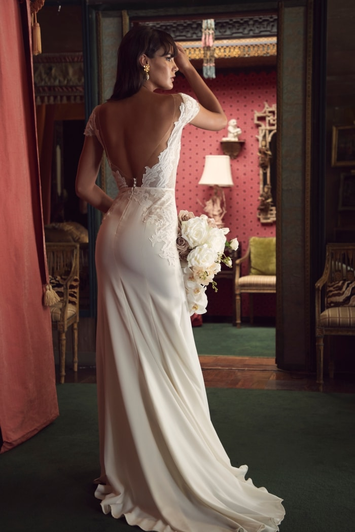 Fletcher back detail Wtoo Wedding Dresses Spring 2020