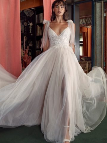Truvy with Bow Tie Straps Wtoo Wedding Dresses Spring 2020