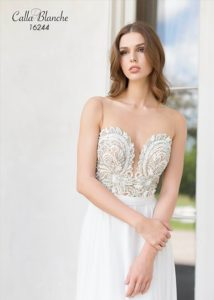 Trinity Wedding Dress from Calla Blanche