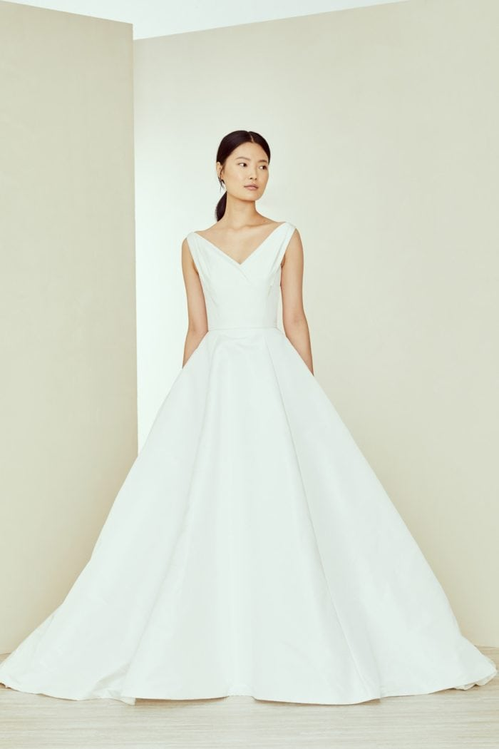 Amsale Ballgown Designer Wedding Dress
