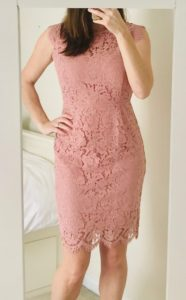 pink wedding guest dress under 50 from amazon