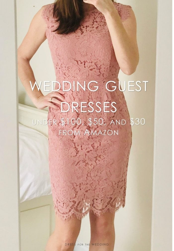 wedding guest dresses under 50 at amazon