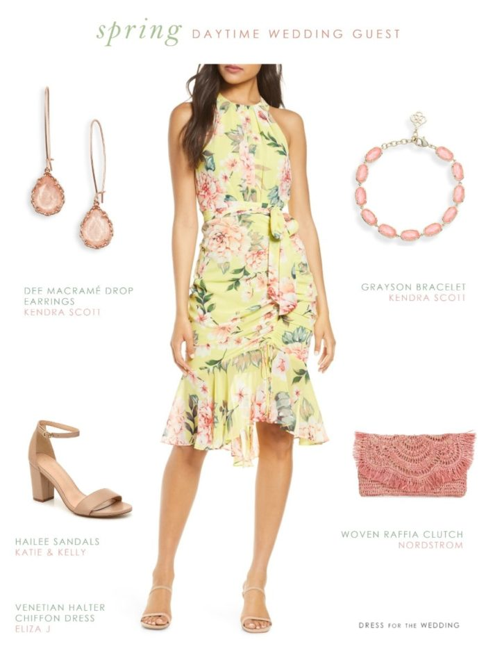 Dress for a Casual Daytime Spring Wedding