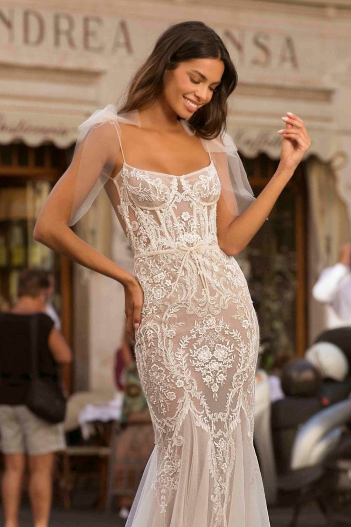 BERTA Lace Wedding Dresses Privee No 3