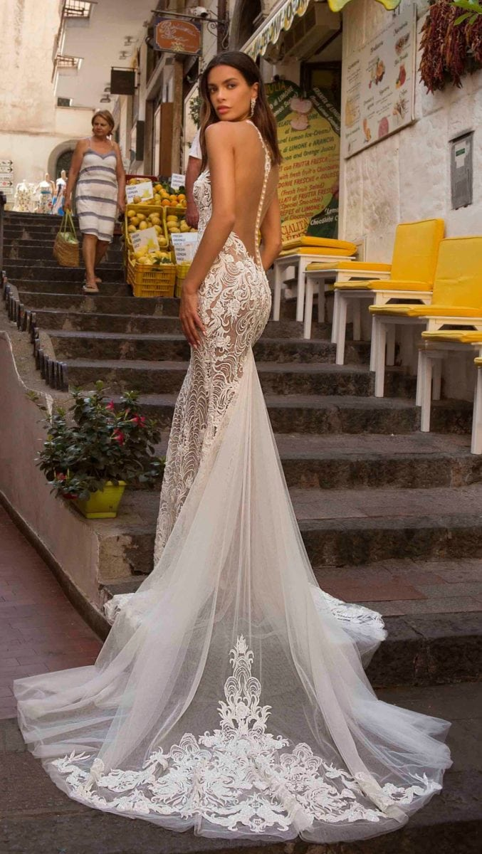 Revealing wedding dresses by Berta Privee