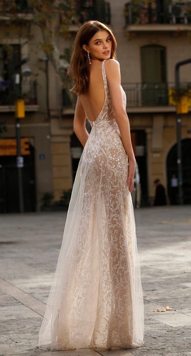 Jolie Sheer Bridal Gown
