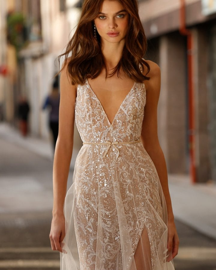 Jolie Beaded Bridal Gown