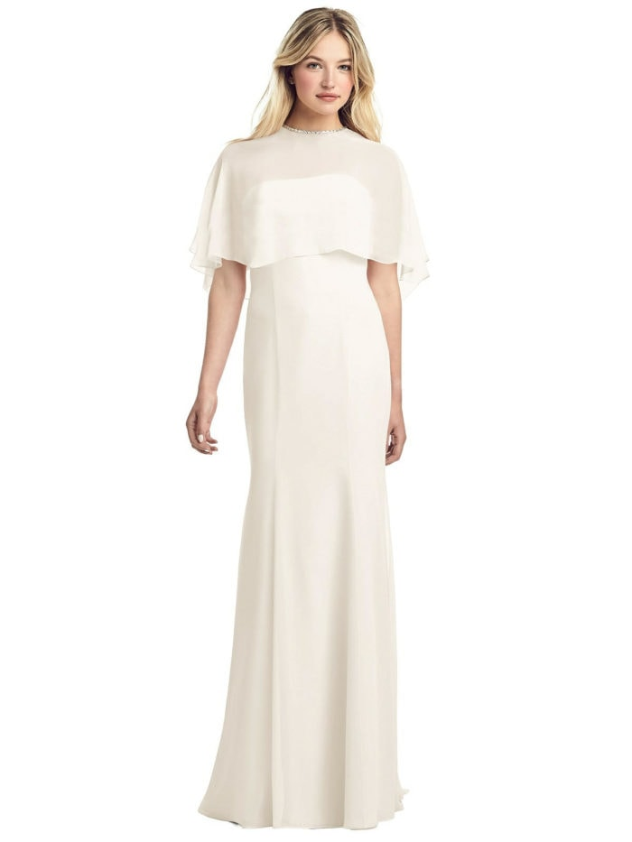 Wedding dress under $300 with cape