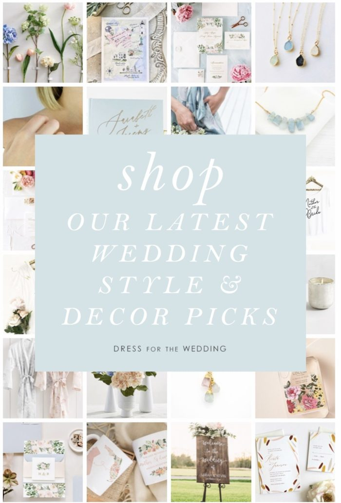 Dress for The Wedding - App for shopping wedding ideas and decor