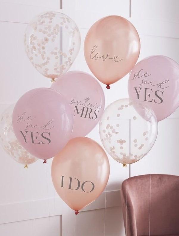 bridal shower balloons