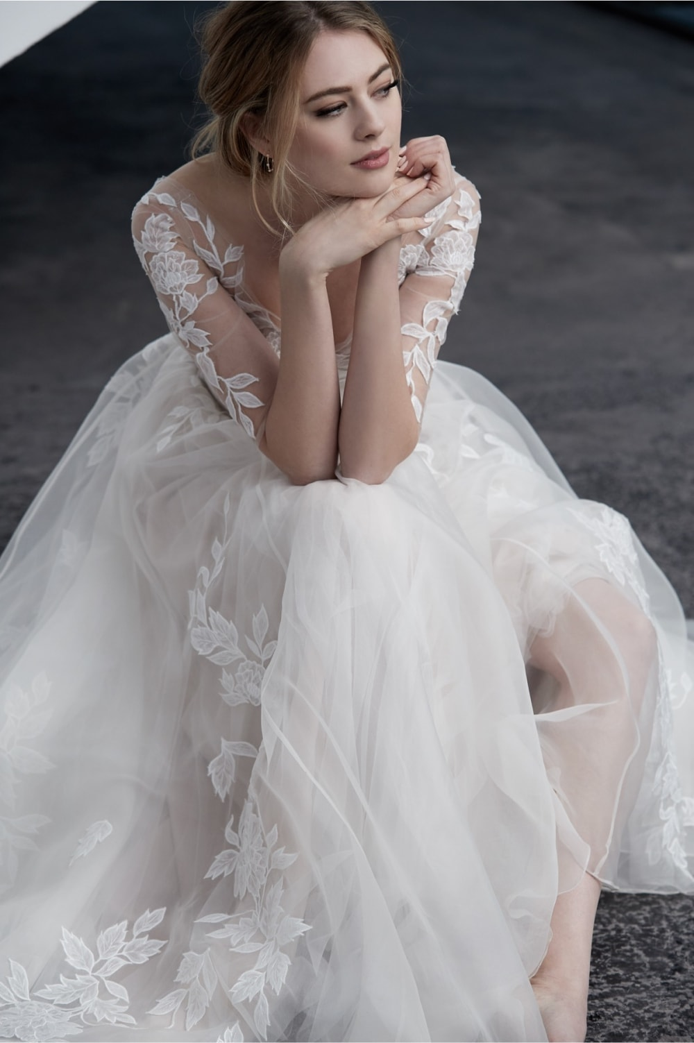 Adriel wedding dress by Watters