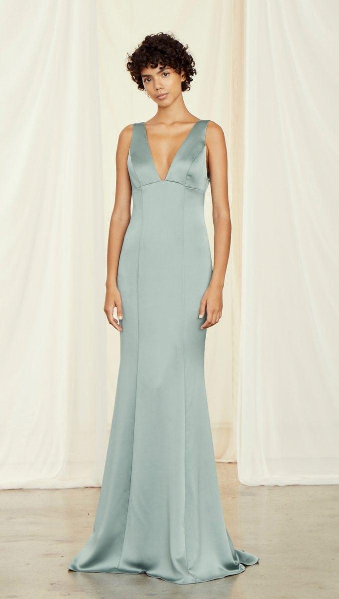 Amsale Leif Bridesmaid Dress