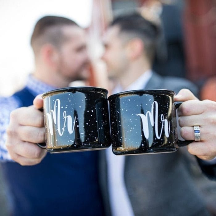Mr and Mr Mugs for Gay Couple