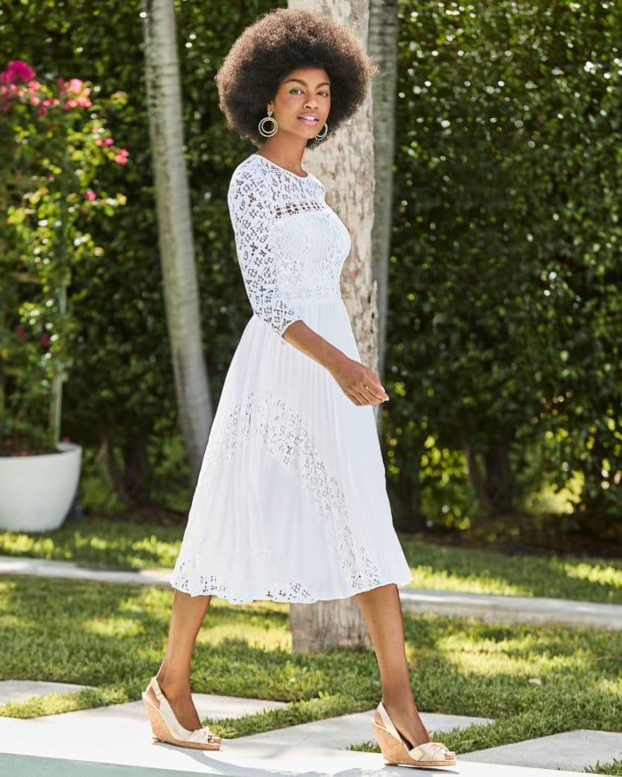 Lilly Pulitzer White Dress | Aiden Dress