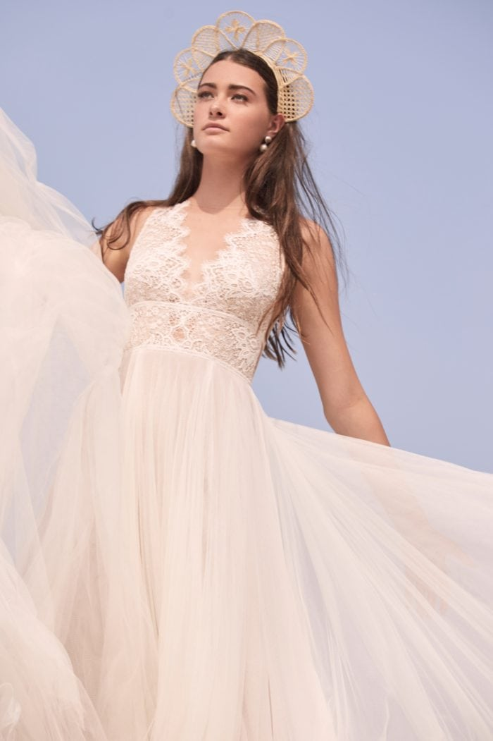 Delena Lace Tulle Willowby Wedding Dresses Spring 2020
