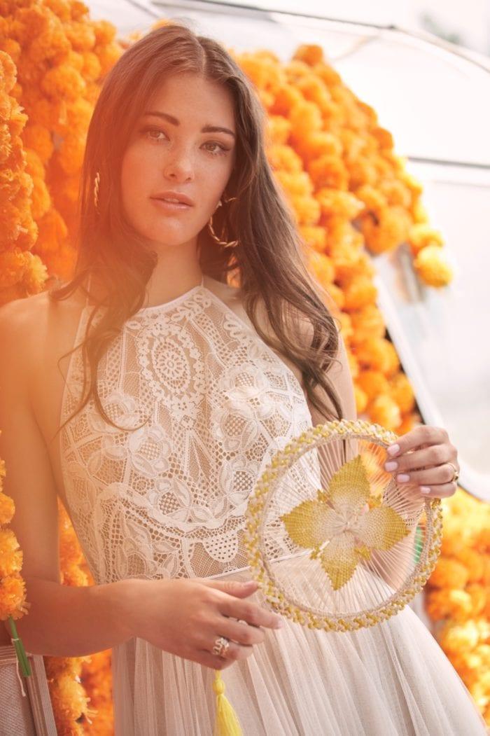 High neck boho wedding dress | Willowby Spring 2020 Bridal Gowns