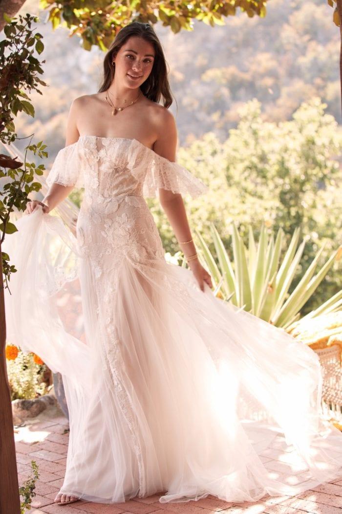 Mackinnon Off the shoulder Willowby Wedding Dresses