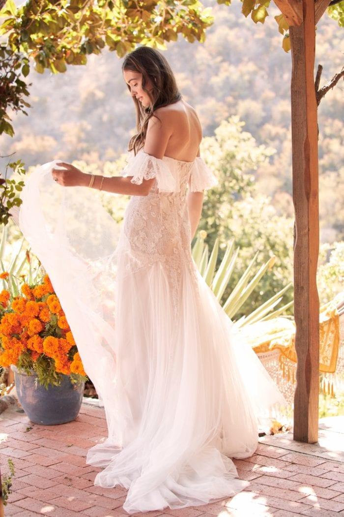 Mackinnon Off the shoulder Willowby Wedding Dress Spring 2020