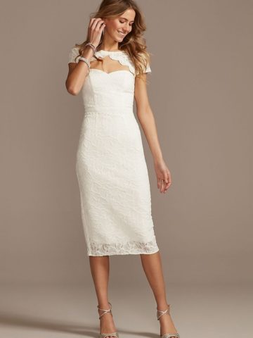 short wedding dress for small weddings