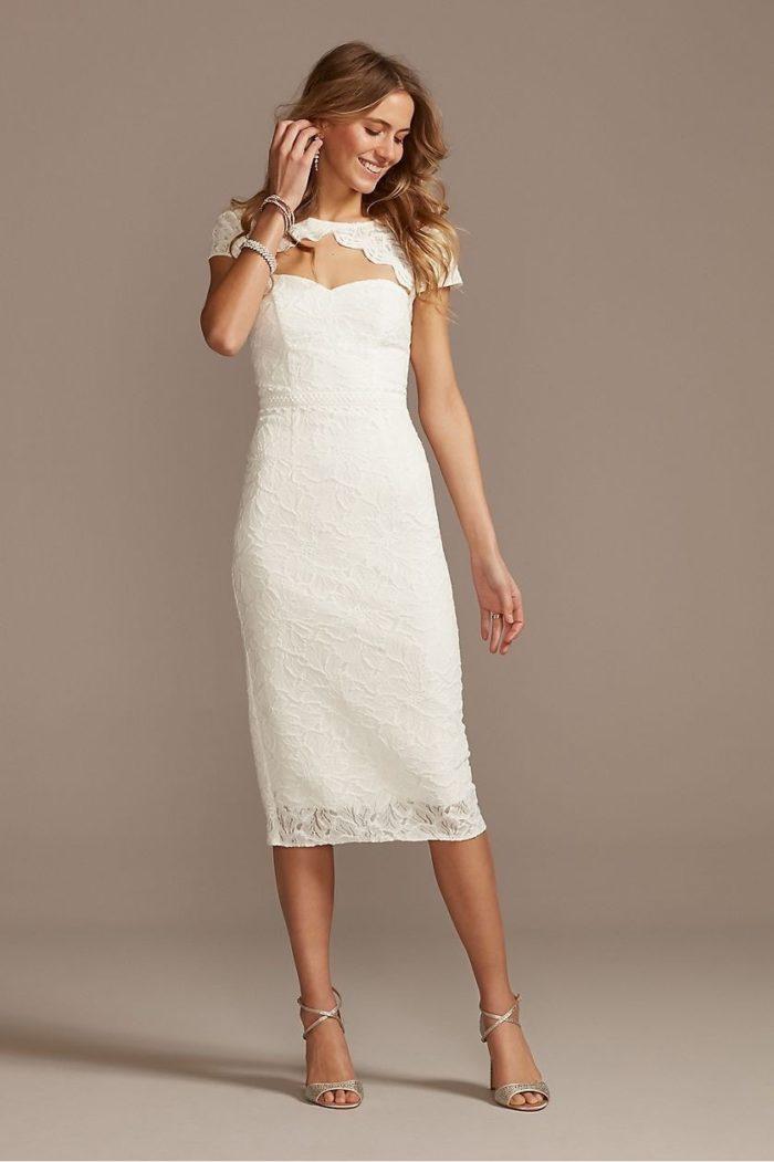 short wedding dress for small weddings