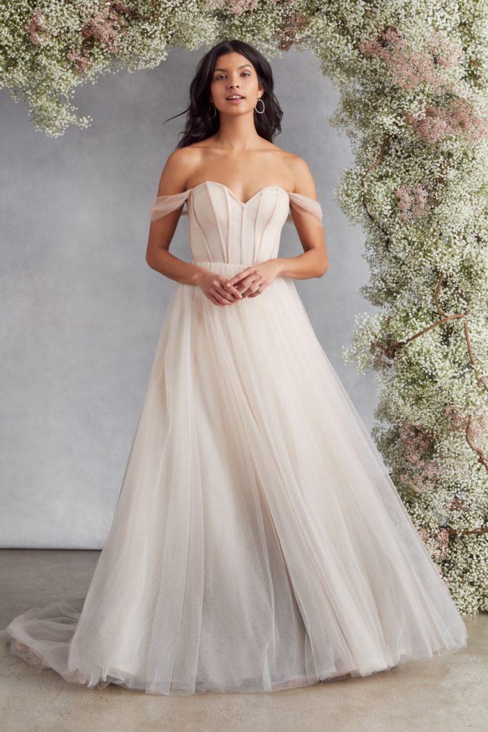 Blush wedding dress Gia