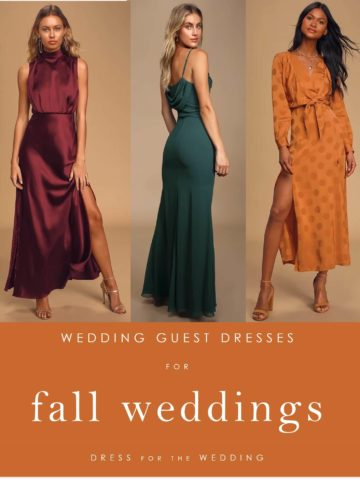 Fall wedding guest dresses 2020