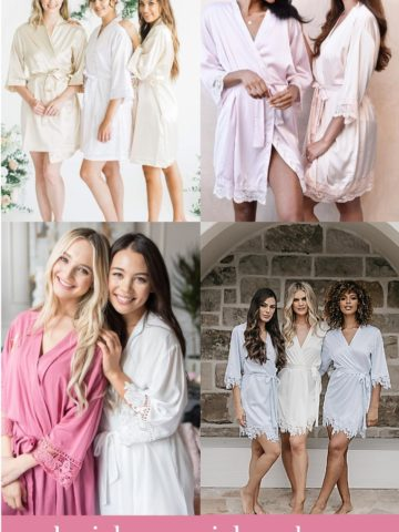 Robes for Weddings and Bridesmaids Gifts