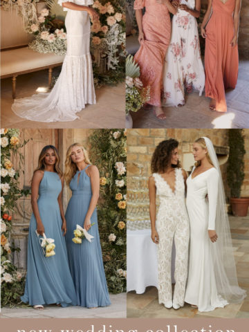 Wedding dresses, bridesmaid dresses and more