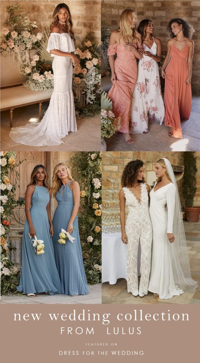 Wedding dresses, bridesmaid dresses and more